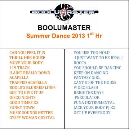 summer dance 1 playlist