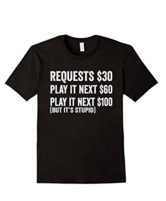 Dj Request T-shirt