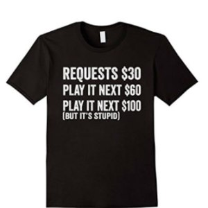 Dj Request T-shirt