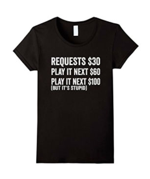 Ladies No request T shirt