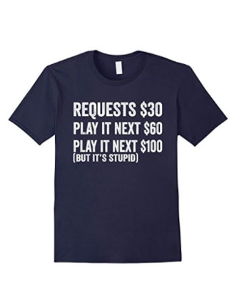 Navy No Request T Shirt
