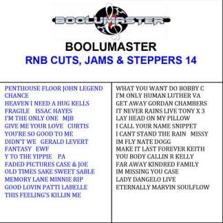 Rnb Cuts 14 Playlist