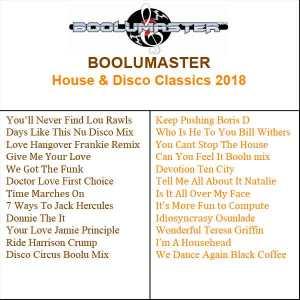 House & Disco Classic 2018 playlist