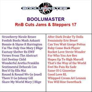 Playlist of Rnb Cuts 17