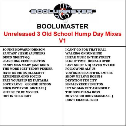 Unreleased Hump day mixes v1