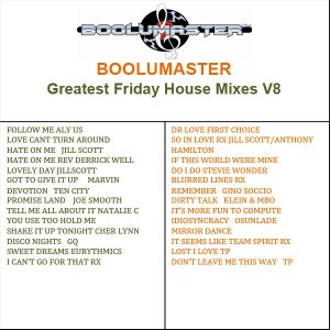 Greatest Friday House V8 playlist