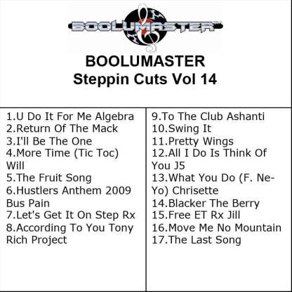 Steppin Cuts 14 playlist