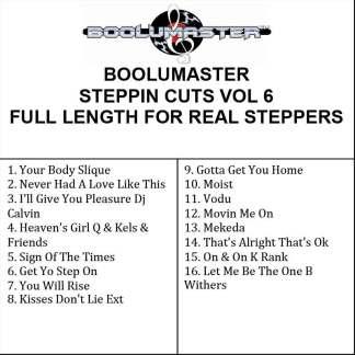 Steppin Cuts 6 playlist