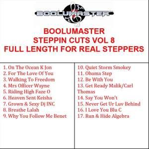 Steppin Cuts 8 playlist