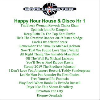 Happy Hour 1 playlist