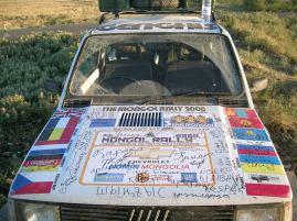 Ghengis Rally Car
