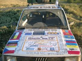 Ghengis Rally Car