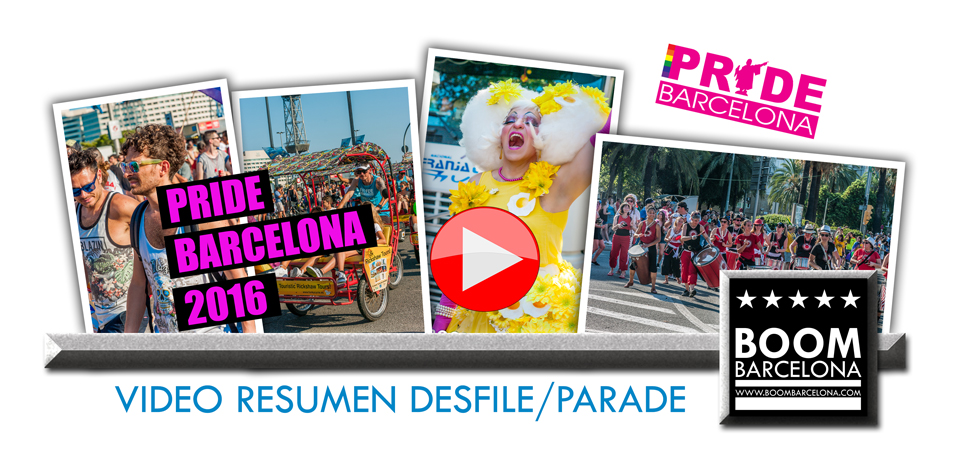 Video Desfile Gay Pride Barcelona 2016
