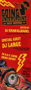 Going Underground mit DJ Large am 9.9.2011