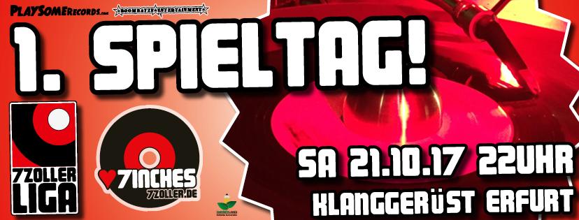 7ZOLLER LIGA: 1. Spieltag | Erfurt