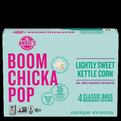 lightly sweet kettle corn microwave popcorn