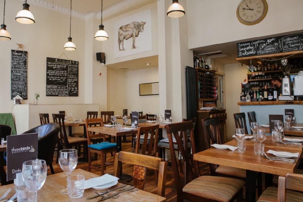 Interior image of the restaurant