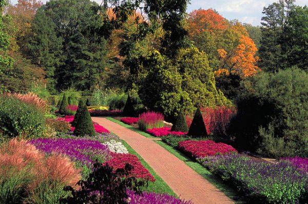 Fall at Longwood Gardens outside Philadelphia