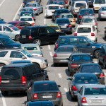 Cars going every which way on a highway, representing the chaos of long-term care insurance industry.