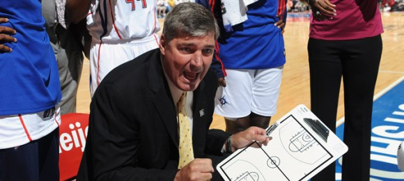 WNBA Coach Bill Laimbeer