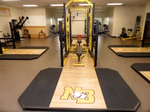 Bulldog weight room