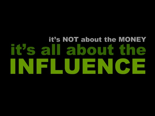 Show Me The Influence? via fuelyourblogging.com