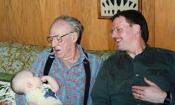 Tyler, Grandpa Marshall, Blogger Daddy.