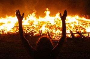 BOOMER DENIABILITY: WE DIDN'T LIGHT THE FIRE