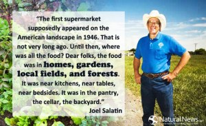 THE SECRETARY OF AGRICULTURE LISTENS TO JOEL SALATIN?