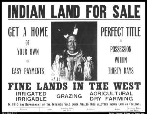 OKAY IT'S BROKEN TREATIES, BUT WE'RE STILL KEEPING THE LAND