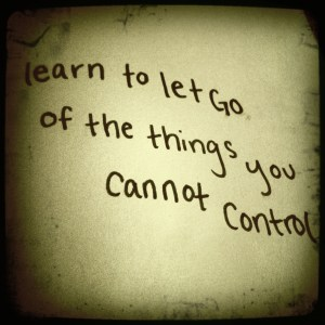 Let Go At The Right Time, Like Now