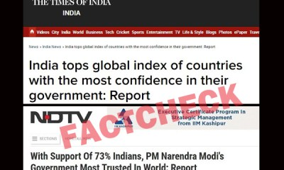 'Trust In Government' Fiasco: How Blind Trust In Foreign Media Exposed Indian Media