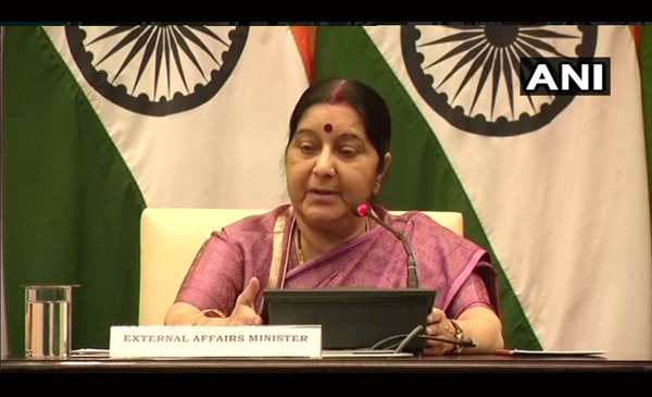 Sushma Swaraj, Union Minister for External Affairs