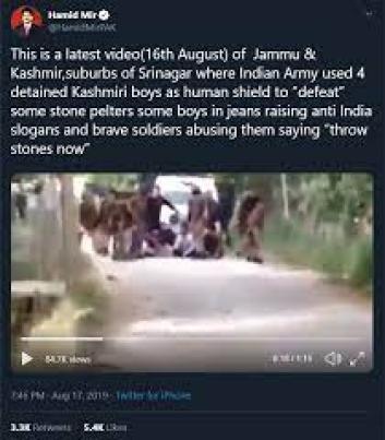 Hamid Mir tweet