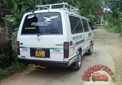 Ikman Lk Toyota Shell Van