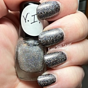 Knockout Lacquers - V.I. (Over Scofflaw - Love Letter from Scofflaw)