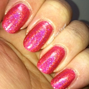 Literary Lacquers - Raspberry Cordial (With Flash)