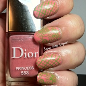 Dior - Princess (stamped with Sally Hansen - Just in Lime)