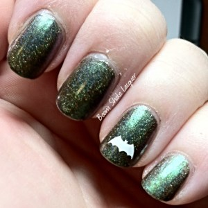 Alchemy Lacquers - Kelpie Seaweed with YouPolish Decal