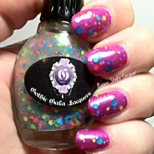 Gothic Gala Lacquers - Face Melter with Neon Night Life