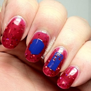 YouPolish Decals (Shown on Lucky 13 Lacquer - Life is Short and You Are Hot)