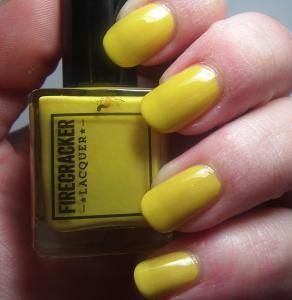 Firecracker Lacquer - Canary Cavalcade