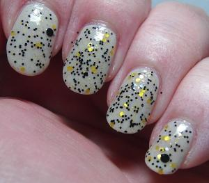 Finger Lickin' Lacquer - She Works Hard for the Honey over Quite Contrary