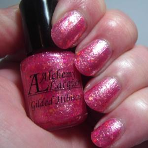 Alchemy Lacquers - Gilded Hibiscus