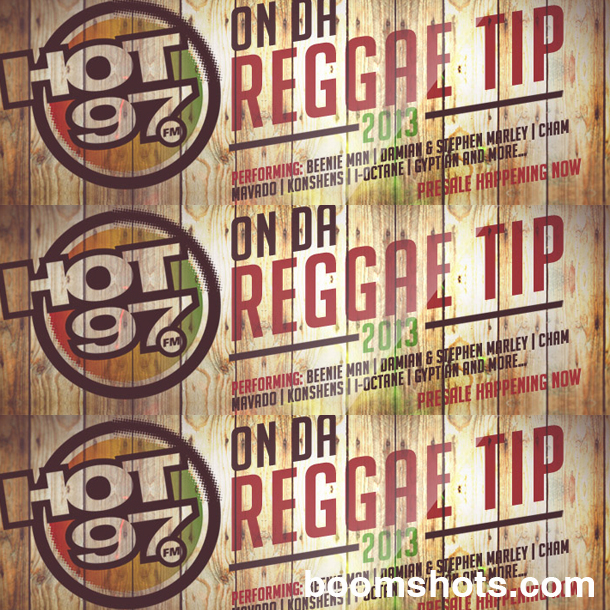 CONCERT ALERT: HOT 97's On Da Reggae Tip 2013