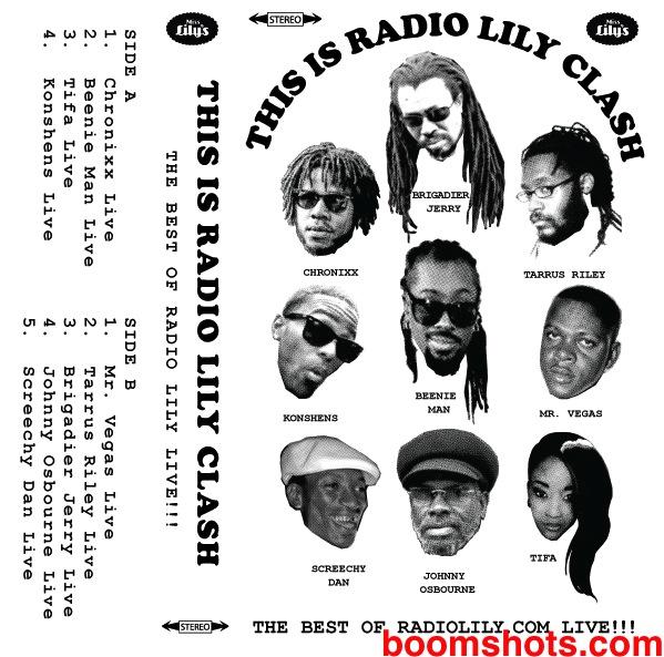 RadioLily8BallBoomshots