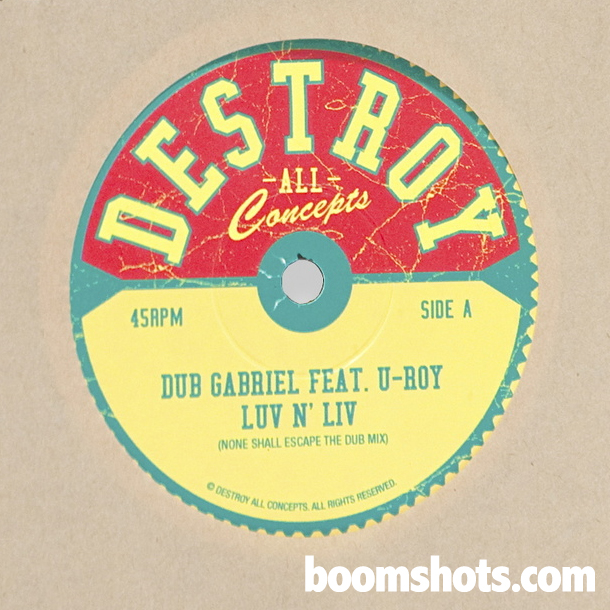 "WATCH THIS: Dub Gabriel feat. U Roy ""Luv n Liv"" (Ming vs. Subatomic Sound System Remix)"