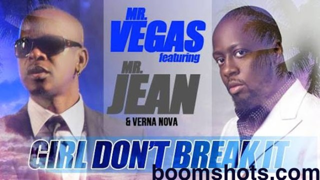 "HEAR THIS: Mr. Vegas ft. Wyclef Jean & Verna Nova ""Girl Don't Break It"""