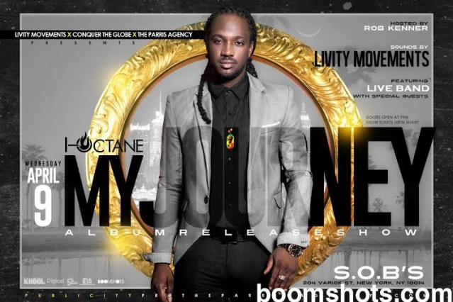 "I-Octane Announces NYC Launch for ""My Journey"" Album"