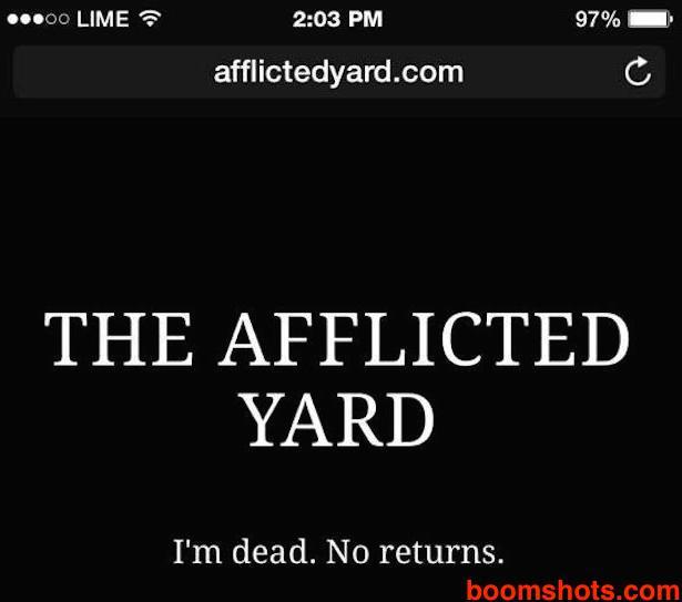 AfflictedYardImDead copy